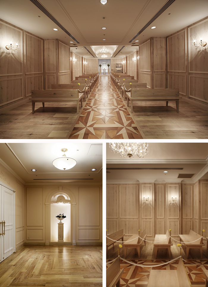 diichi hotel chapel design